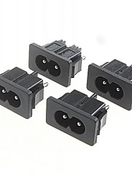 AC Power Outlet 5A/250V(5Pcs)