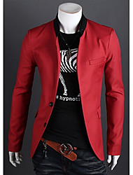 Playgame Men's Casual Solid Color Blazer