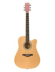 Spruce Dreadnought Acoustic Guitar Cutway with Assorted Colours