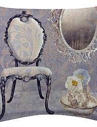 Noble Furniture Pattern Velvet Decorative Pillow Cover