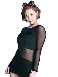 Dancewear Women's Chinlon Mesh Latin/Modern Dance Tops