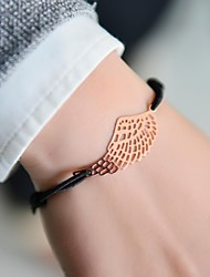 Fashion Women Wing Stamping Elastic Adjustable Bracelet
