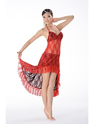 Belly Dance Practice Elegant Lace Outfits Bodysuit and Skirt(More Colors)