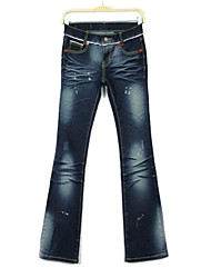 Women's Classic Blue Fashion Jeans Pants