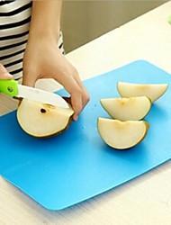 Tábua de Cozinha, plástico 38,5 × 24 × 0,5 centímetros (15,2 × 9,5 × 0,2 polegadas) cor aleatória