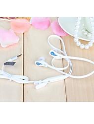 JTX-jl860 3,5 mm de haute qualité de contrôle du volume du microphone dans l'oreille des écouteurs pour iPhone et autres téléphones (couleurs
