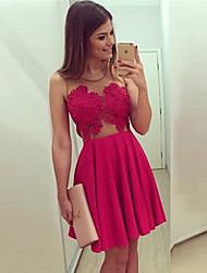 Vestidos ( Poliéster )- Bodycon Mujer