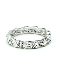 Silver Alloy Daily Rings For Women