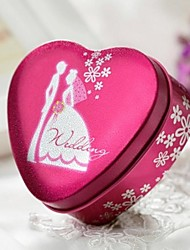 9 Piece/Set Favor Holder-Heart-shaped Metal Favor Boxes Favor Tins and Pails Gift Boxes Non-personalised