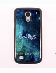 Personalized Phone Case - Good Night Design Metal Case for Samsung Galaxy S4