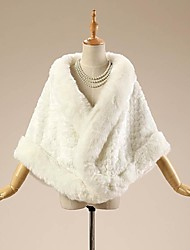 Fur Wraps Large Thick Fur Edge Winter Weddings Faux Fur Patterned Wrap Shawl Bridal Bolero