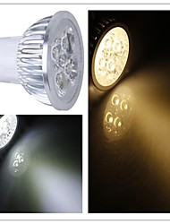 GU5.3(MR16) LED Spotlight / LED Par Lights MR16 1 High Power LED 350-400 lm Warm White / Cool White Dimmable AC 110-130 V