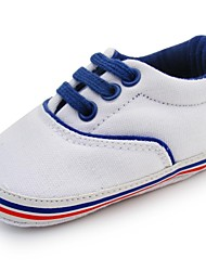 Baby Shoes - Tempo libero - Sneakers alla moda - Spigato - Bianco