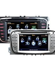 "7"" In Dash Car Stereo GPS Navigation Headunit for Ford Focus S-max Mondeo Galaxy Kuga DVD Bluetooth Radio"