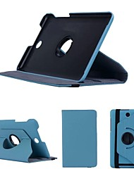 Dengpin 8 Inch PU Leather 360 Degree Rotating Flip Stand Tablet Cover Case for Acer Iconia One 8 B1-810