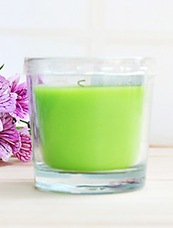 Smokeless Green Apple Candle
