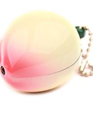 White Peach Metal Creative Butane Lighter