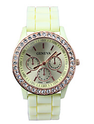 LYNN Women's All Matching Leisure Diamante Watch