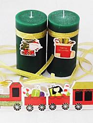 Green Christmas Fragrance Candles