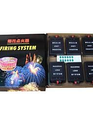 MagicEffect ™ 150mremote 12cues fuochi d'artificio senza fili sistema di cottura + fase attrezzature