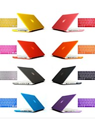 Solid Color Foldable Hard Case with Keyboard Cover for Macbook Retina 15.4 inch (Assorted Colors)