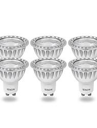 ienon® 6pcs GU10 3w 240-270lm fraîche lumière blanche / chaude conduit blub spot (100-240V)