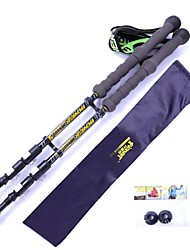 GIANDA ® Professional Ultra Light Carbon Easy Lock System Hiking Poles Telescopic 65~135cm NV-05