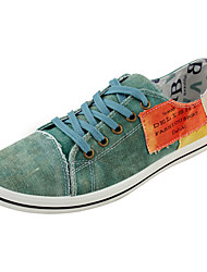 Men's Shoes Casual Fabric Fashion Sneakers Blue/Green/Beige
