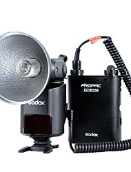 Godox witstro ad360kit (360W / s, gn85 barebulb flash + batteria al litio pb960 pack)