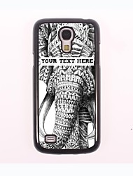 personalisierte-Tasche - großer Elefant Design-Metall-Fall für Samsung-Galaxie s4