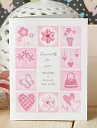 rosa Stimmung Mini danken Ihnen, Geschenk-Karte