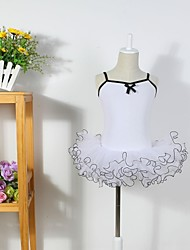 Kids' Dancewear Dresses / Tutus Women's / Children's Training Cotton / Tulle Ballet Sleeveless