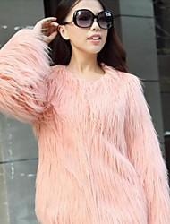 Fur Coats Imitation Fur Wedding/Evening/Casual Coat (More Colors)