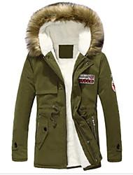 Romeo Men's Casual Hoodie Long Sleeve Cotton Coat