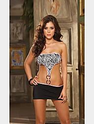 bra noite zebra da véspera com saia