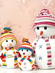 13cm Christmas Snowman (Random Colour)