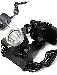 LS116 CREE XM-L T6 1600lm LED Rechargeable Headlight Headlamp Kit (Include 18650 Battery and Charger)