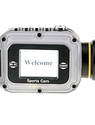 HD1080P W5 10m Waterproof 12MP WIFI Sports Camera with 1.5 LTPS LCD 2000mAh Lithium Battery