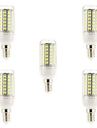 15W E14 Ampoules à Filament LED 69 SMD 5730 1500 lm Blanc Naturel AC 100-240 V 5 pièces