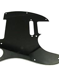 3ply Pickguard für Tele Style Gitarre, schwarz