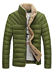 Men' Fashional Thick Cotton Padded Camouflage Jacket
