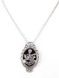 Unisex Twilight Rosalie Black Alloy Movie Pendant Necklace(1 Pc)