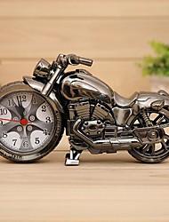 Personalidad de la moda retro reloj de alarma de la motocicleta