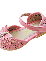 Girls' Shoes Comfort Peep Toe Flat Heel Sandals Shoes More Colors available