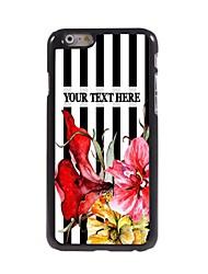 personalizzato phone caso - bar-type caso di disegno del metallo per iPhone 6