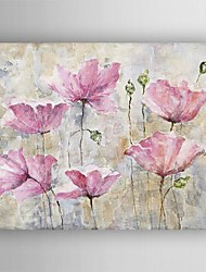 Oil Painting Modern  Flower  Hand Painted Canvas with Stretched Framed