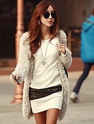 Qiu Qing Women's Diamonade Fashion Cotton Bodycon