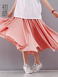 toyouth ® 2015 as saias das mulheres saia longa