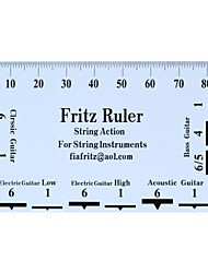 Acoustic Electric Guitar Bass String Pitch Ruler