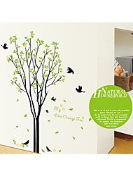 Wall Stickers Wall Decals, Style Tree Birds PVC Wall Stickers